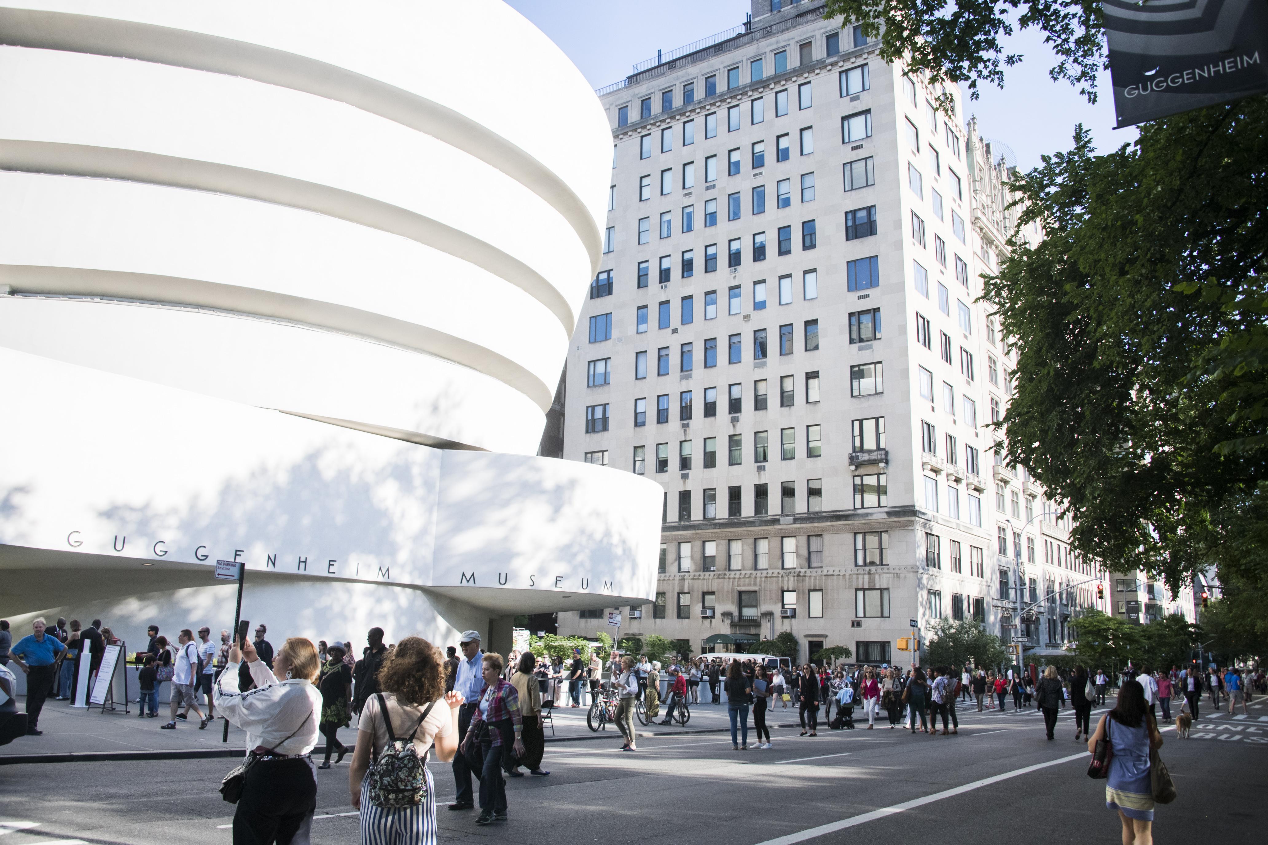 Solomon R. Guggenheim Museum museum mile
