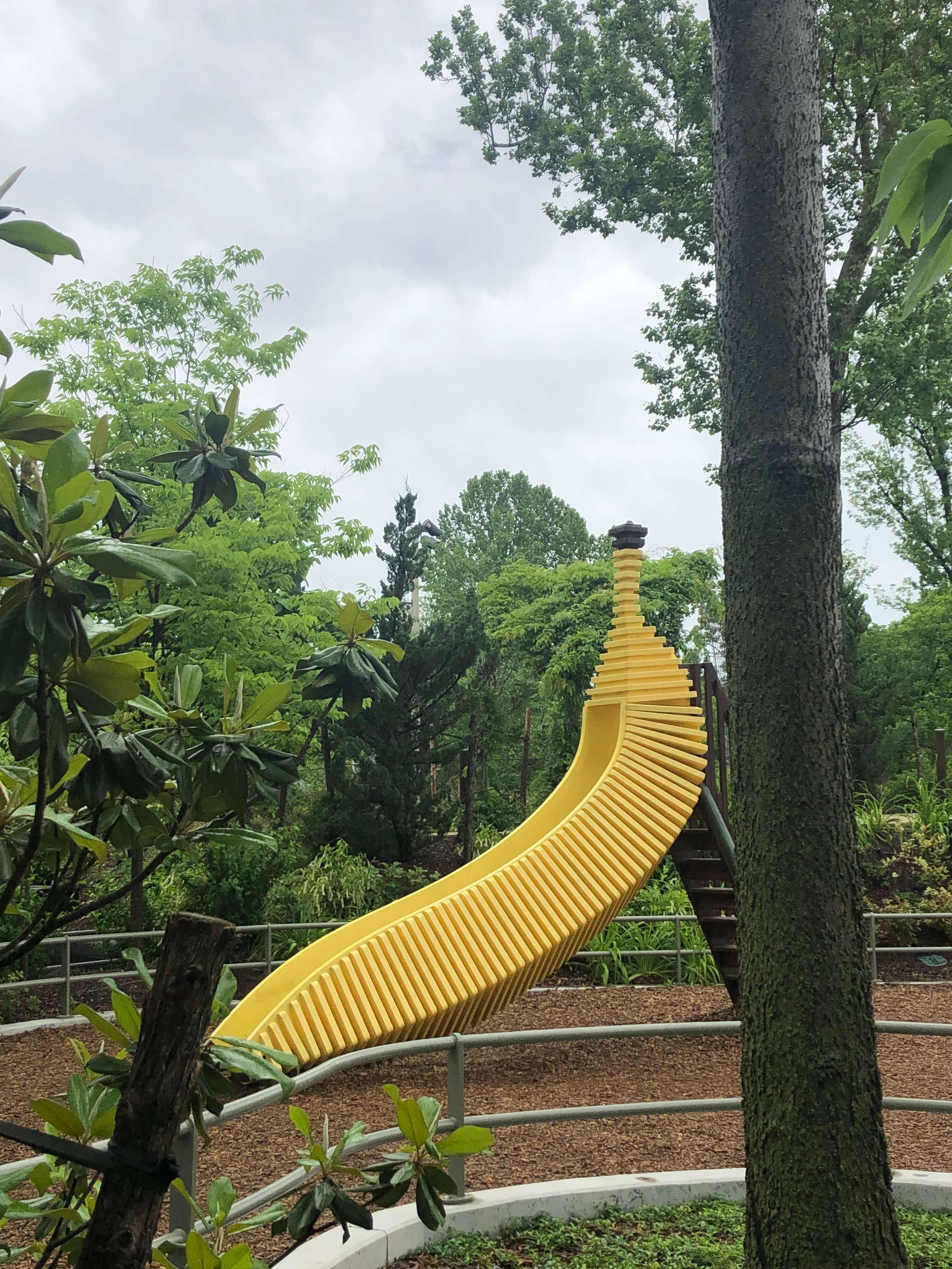 banana slide gathering place