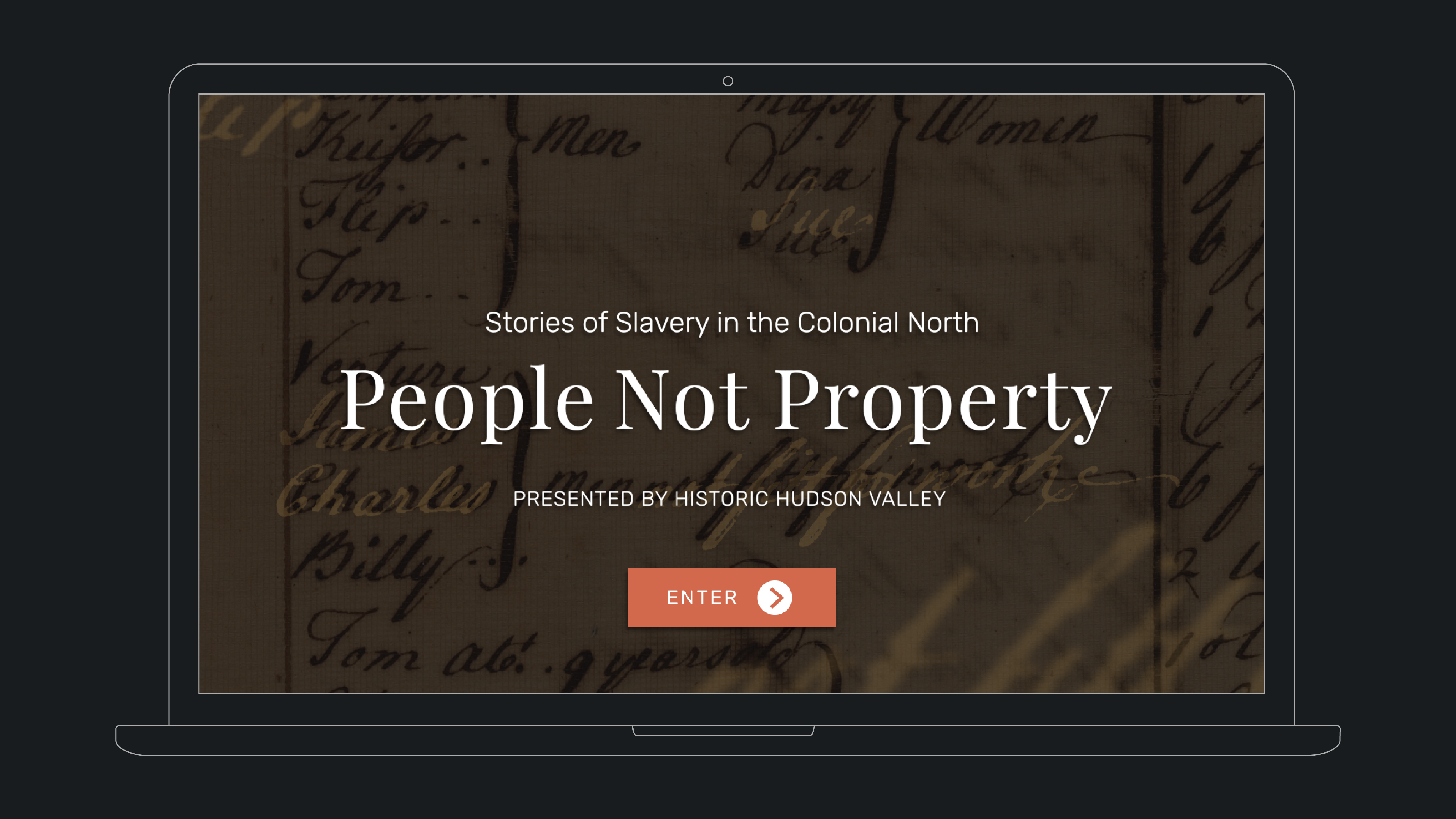 People Not Property: Stories of Slavery in the Colonial North