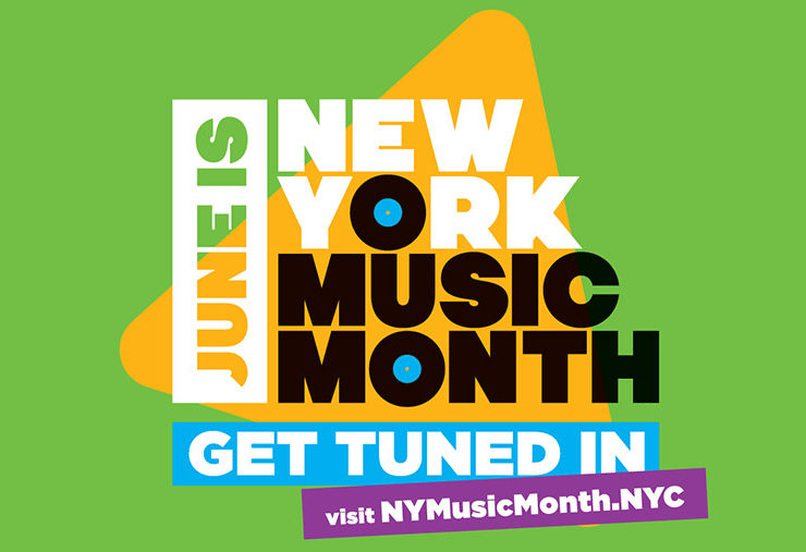 New York Music Month (NYMM) this June 2019