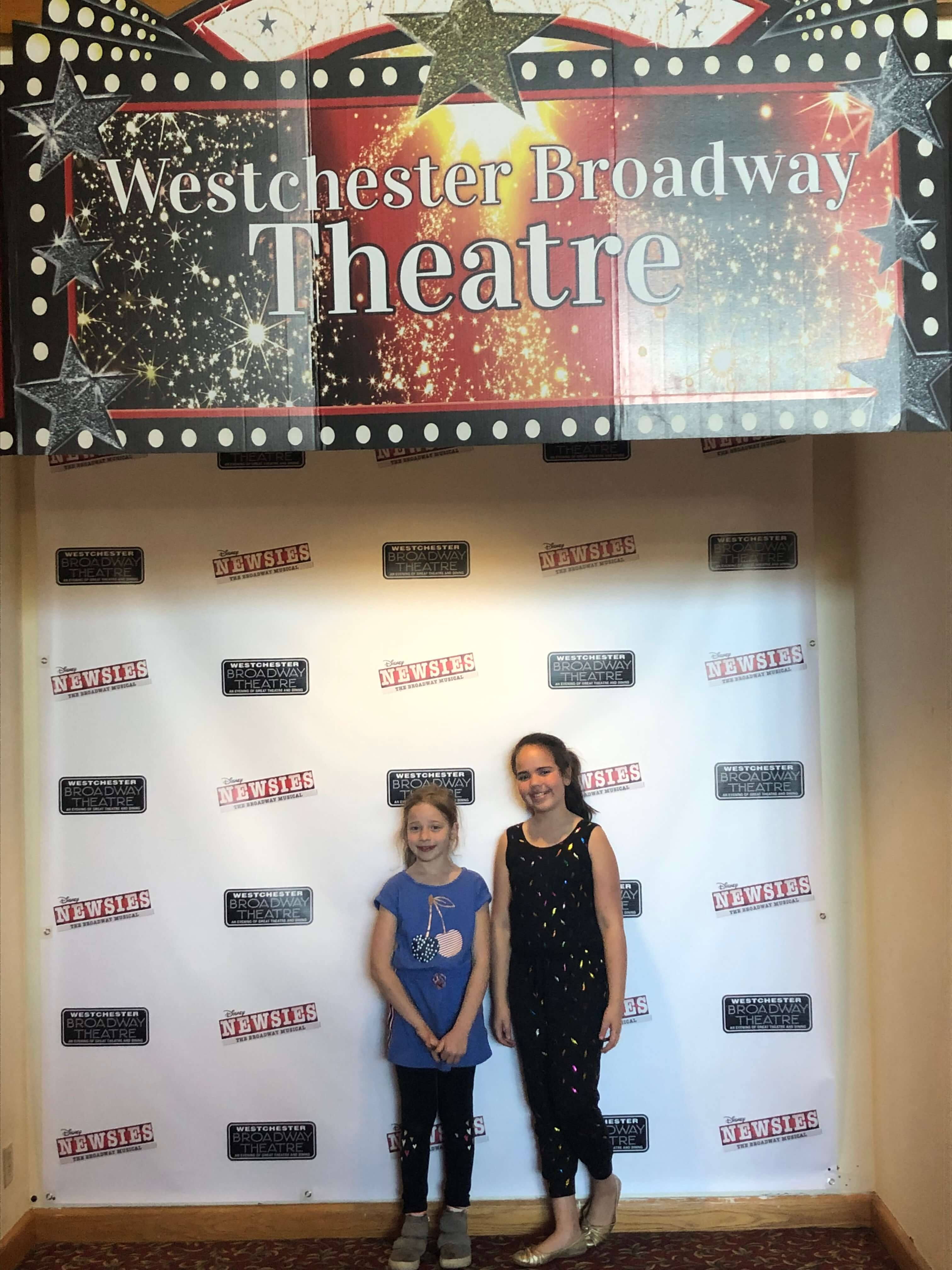 so much fun for kids at the Westchester Broadway Theatre
