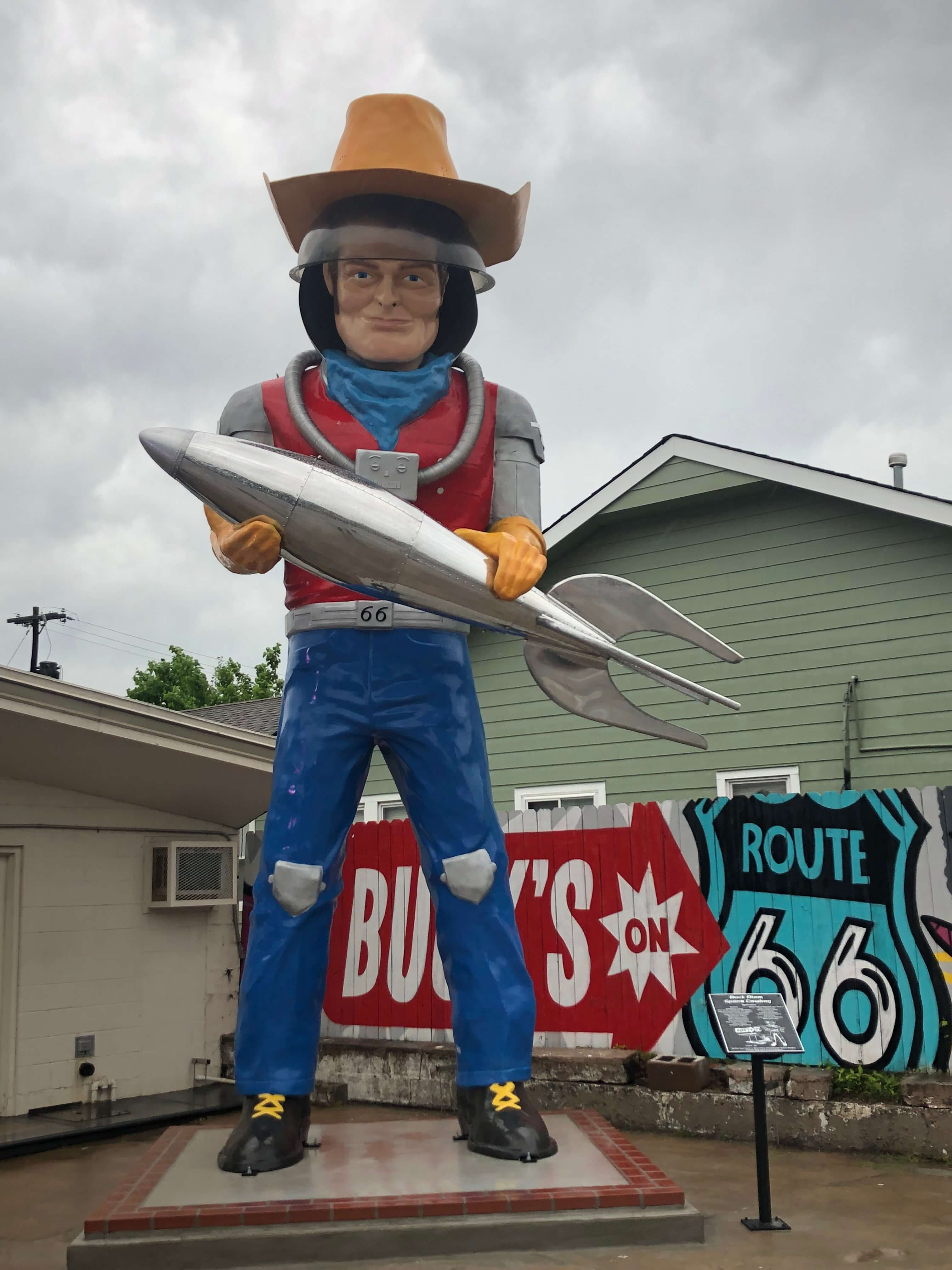 Bucks by Route 66.