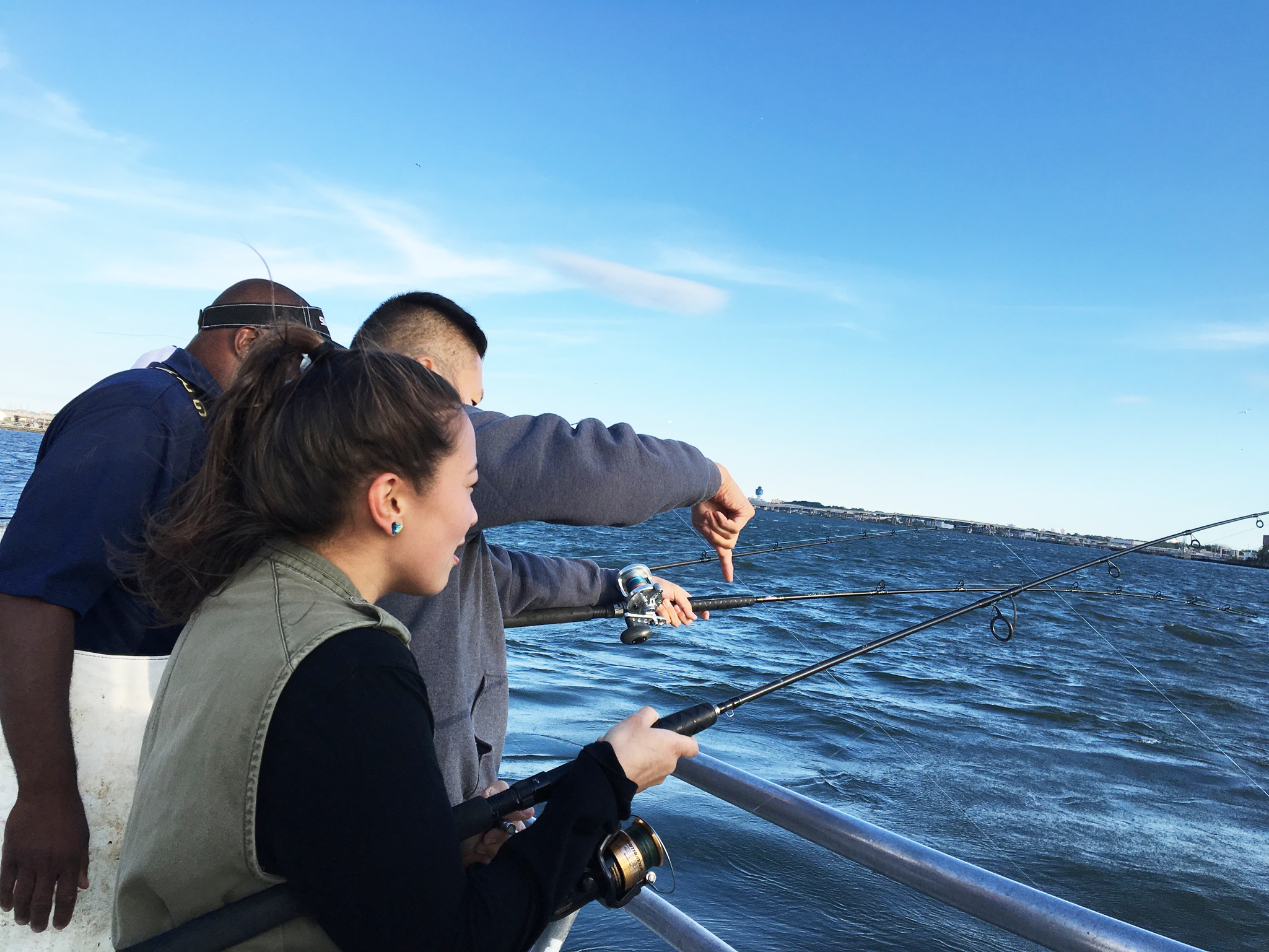 Learn how to tie knots, bait a hook, cast a rod, and maybe even reel up a fish! Guided by a marine biologist and expert anglers, learn the basics of rod and reel line fishing, while catching-and-releasing some of Brooklyn Bridge Park's aquatic organisms.
