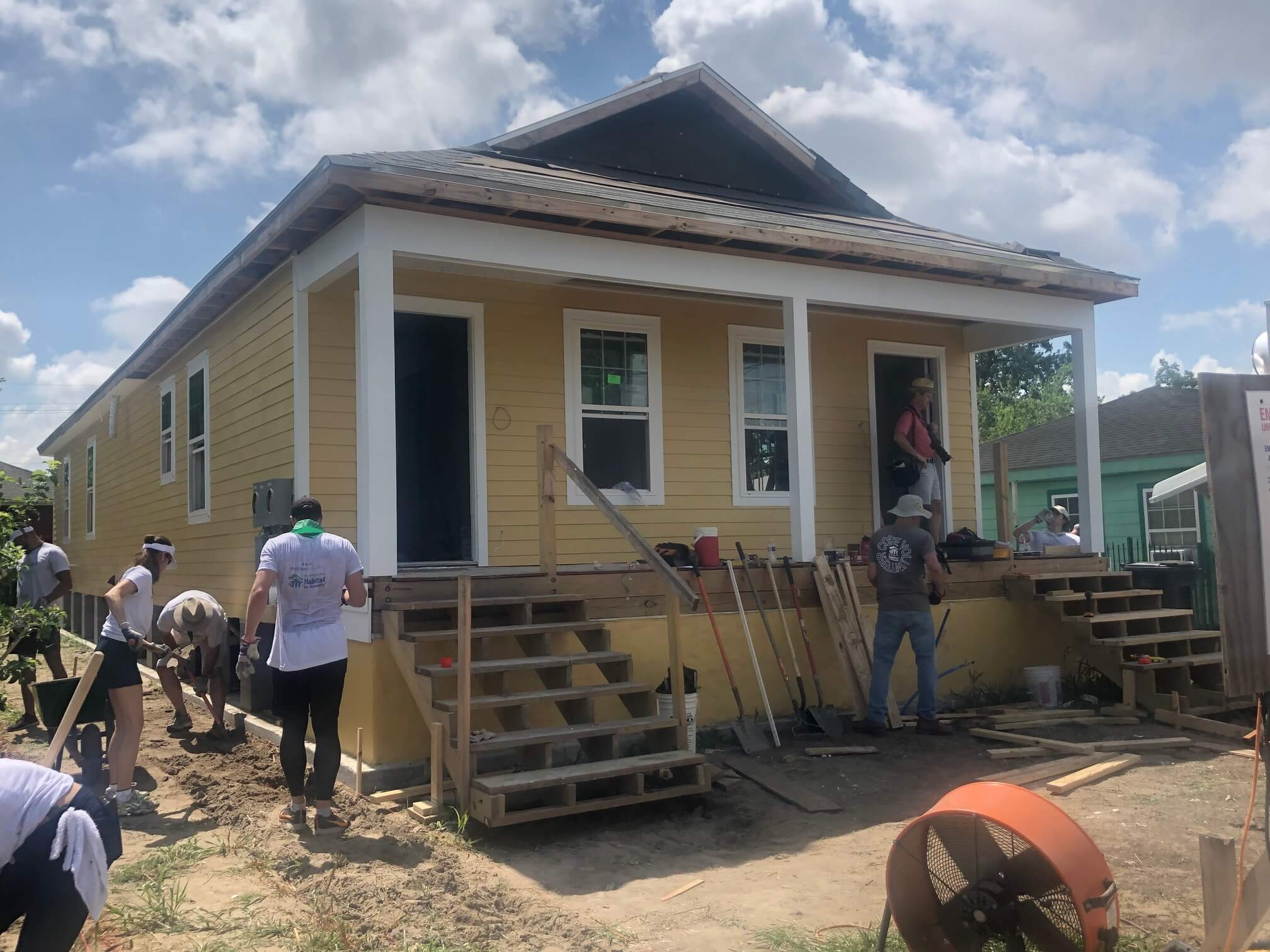 new orleans Habitat for Humanity Build