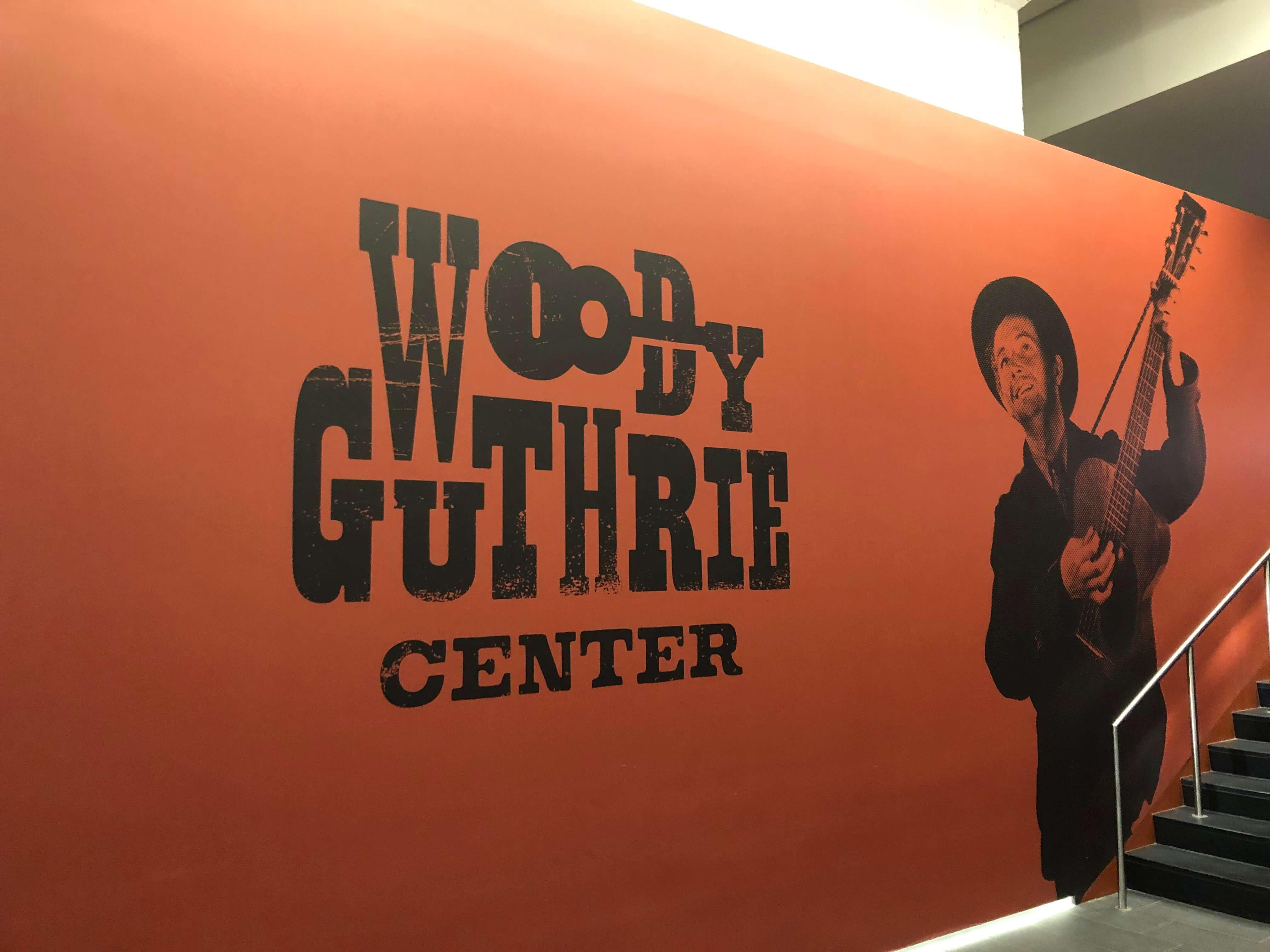 Woody Guthrie Center in Tulsa, Oklahoma