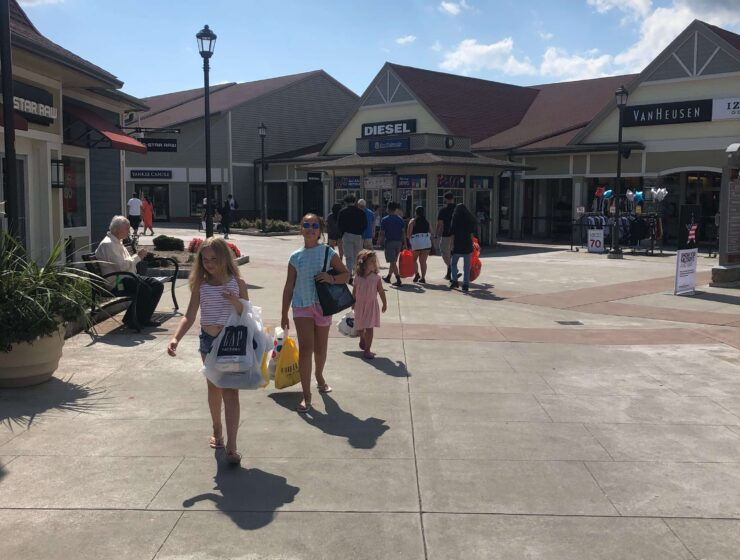 woodbury common back to school shopping