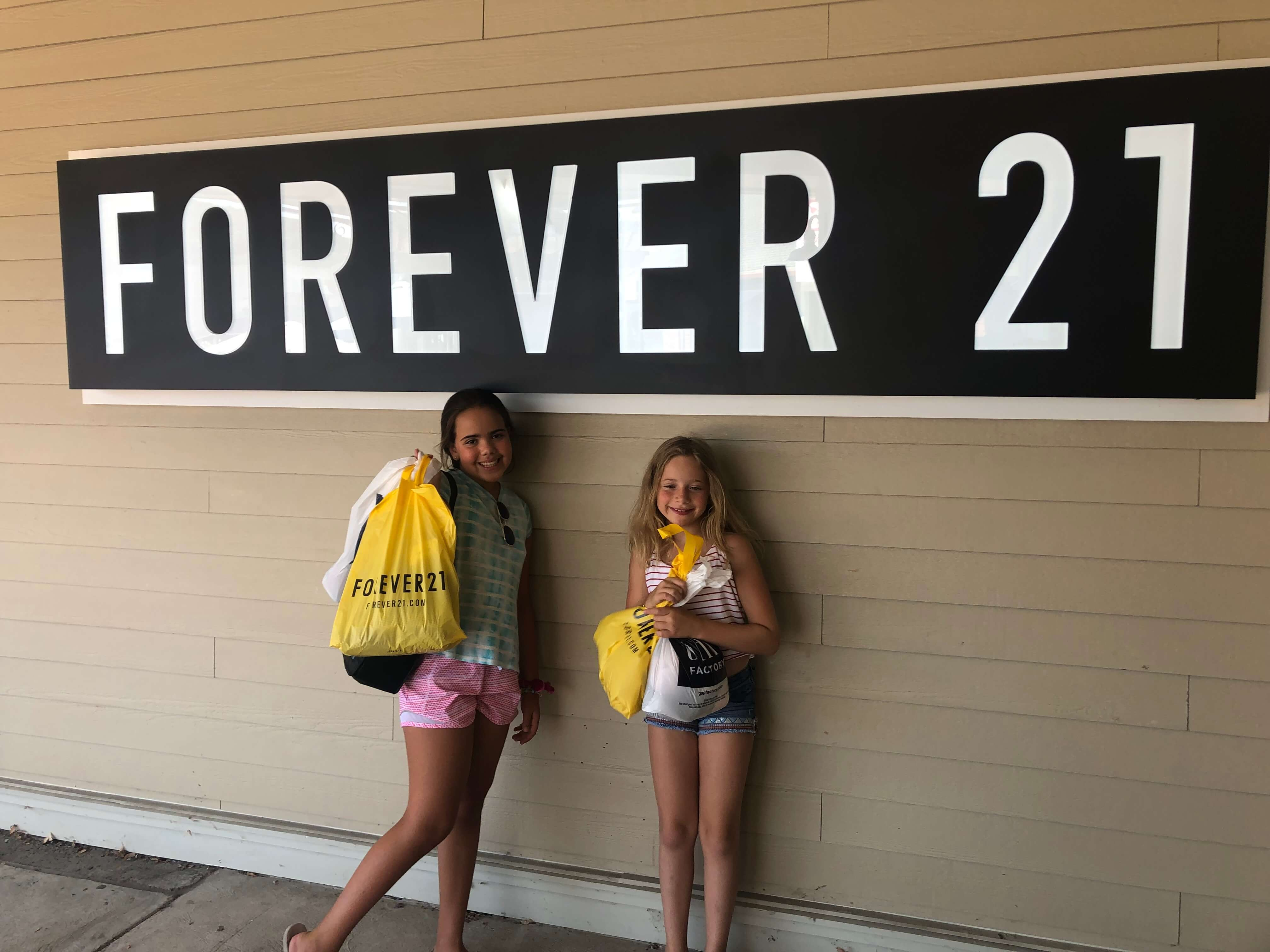 Forever 21 Woodbury Common
