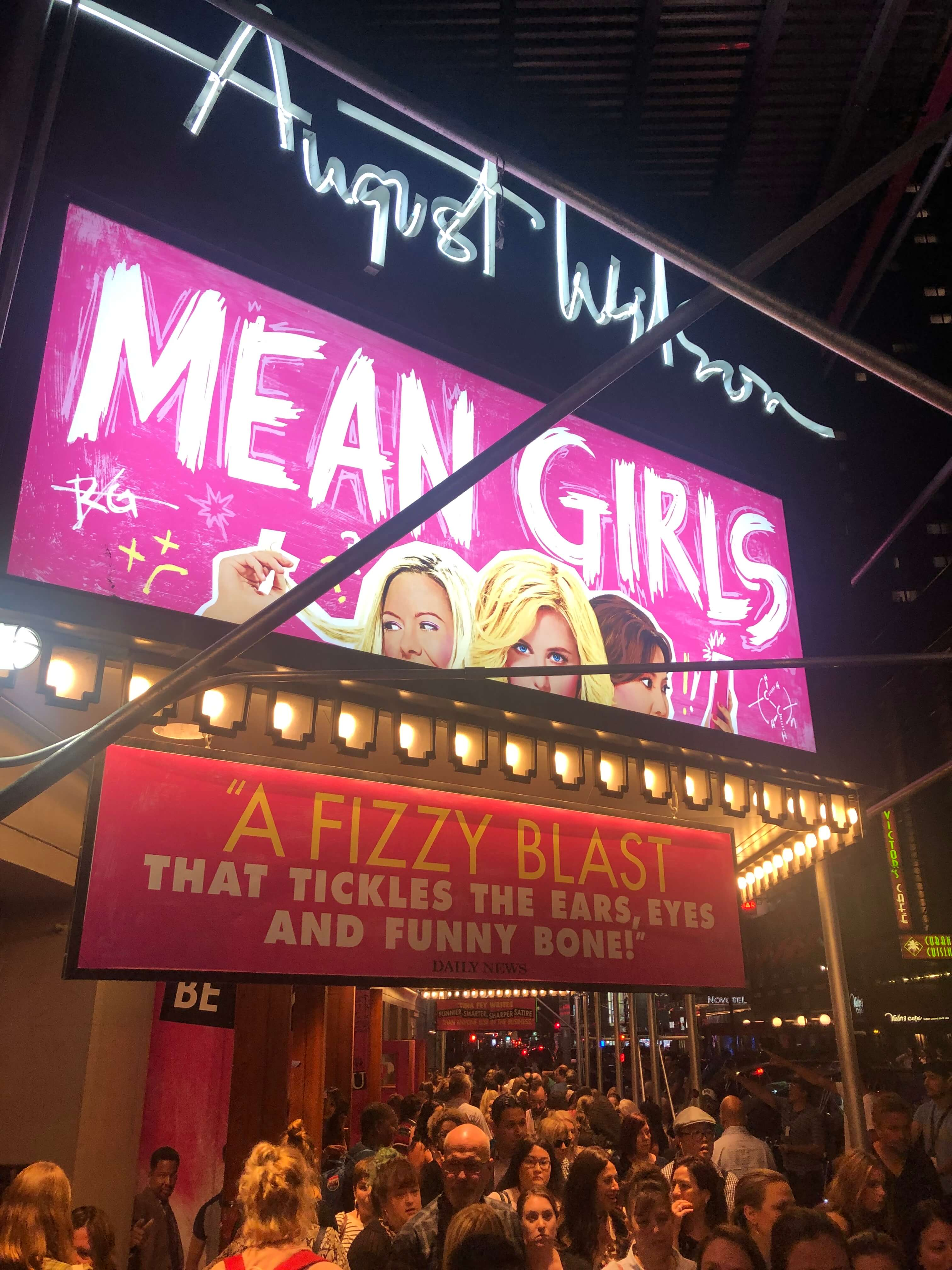 So Fetch: Fun Night Out to See Mean Girls on Broadway