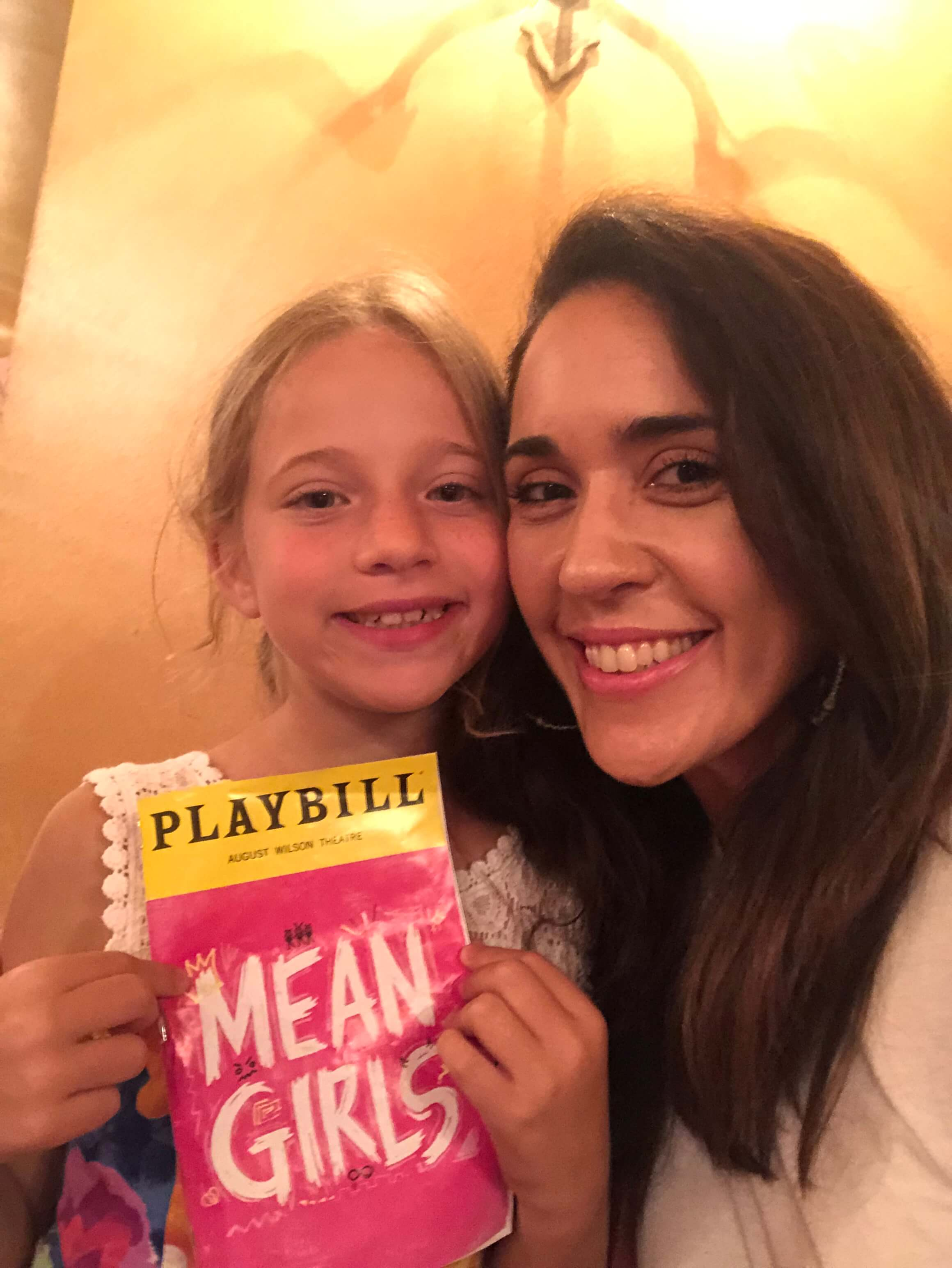 Mean Girls on Broadway with kids