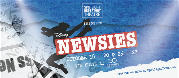 Disney's Newsies, The Musical at Empire Outlets