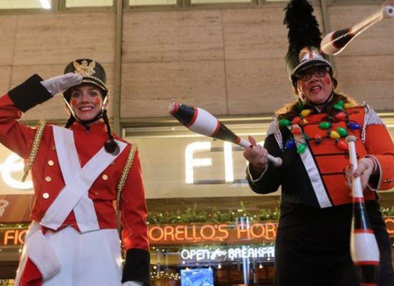Winter's Eve free fun in Lincoln Square