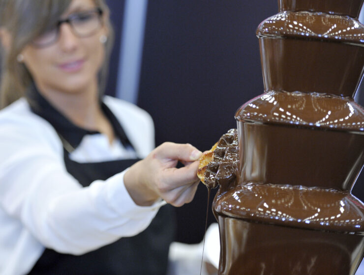 Salon du Chocolat is coming to NYC for a limited time. This includes treats from chocolatiers around the world, artists sculpting with cocoa, a chocolate couture fashion show and more.