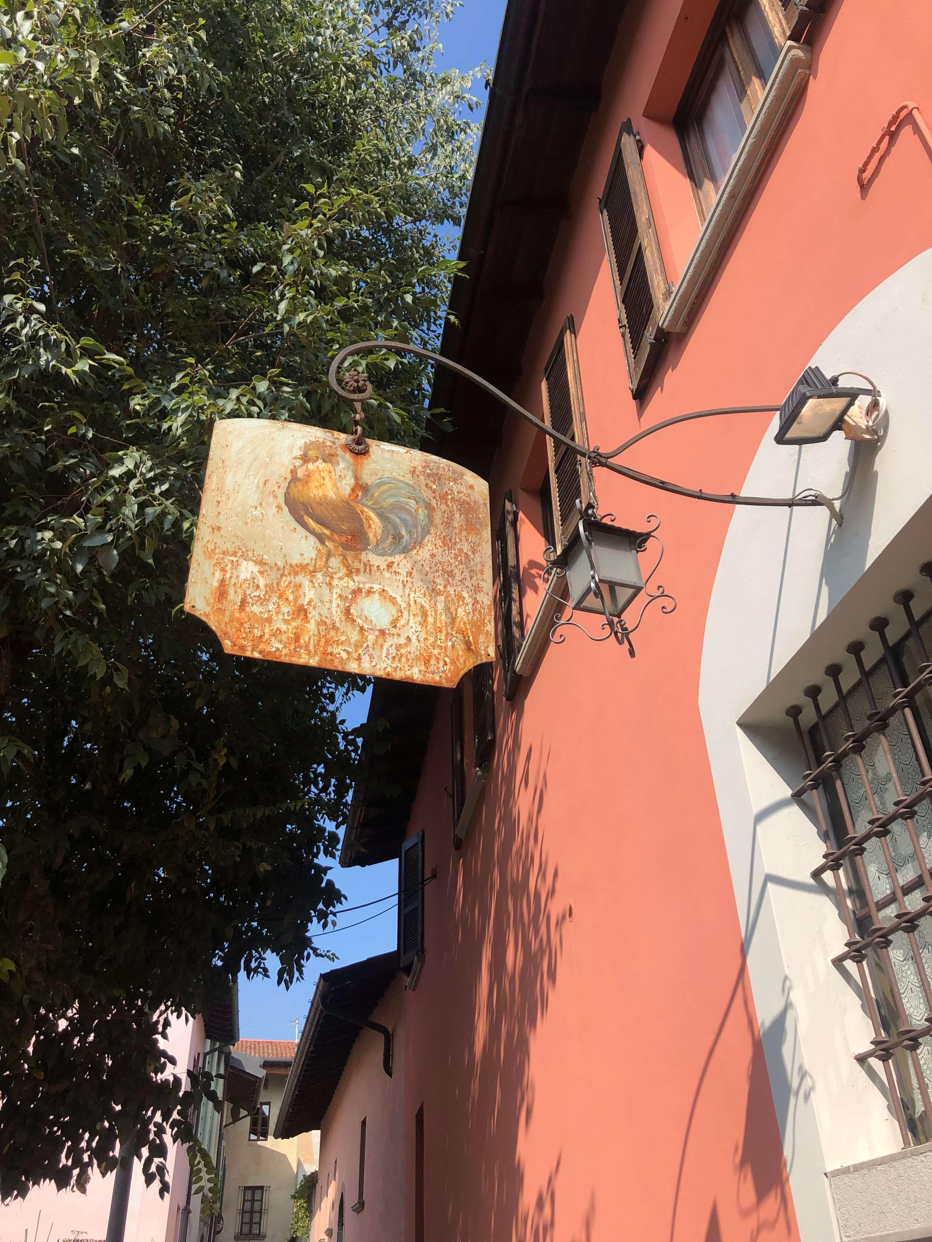 Trattoria del Gallo cooking class in Italy