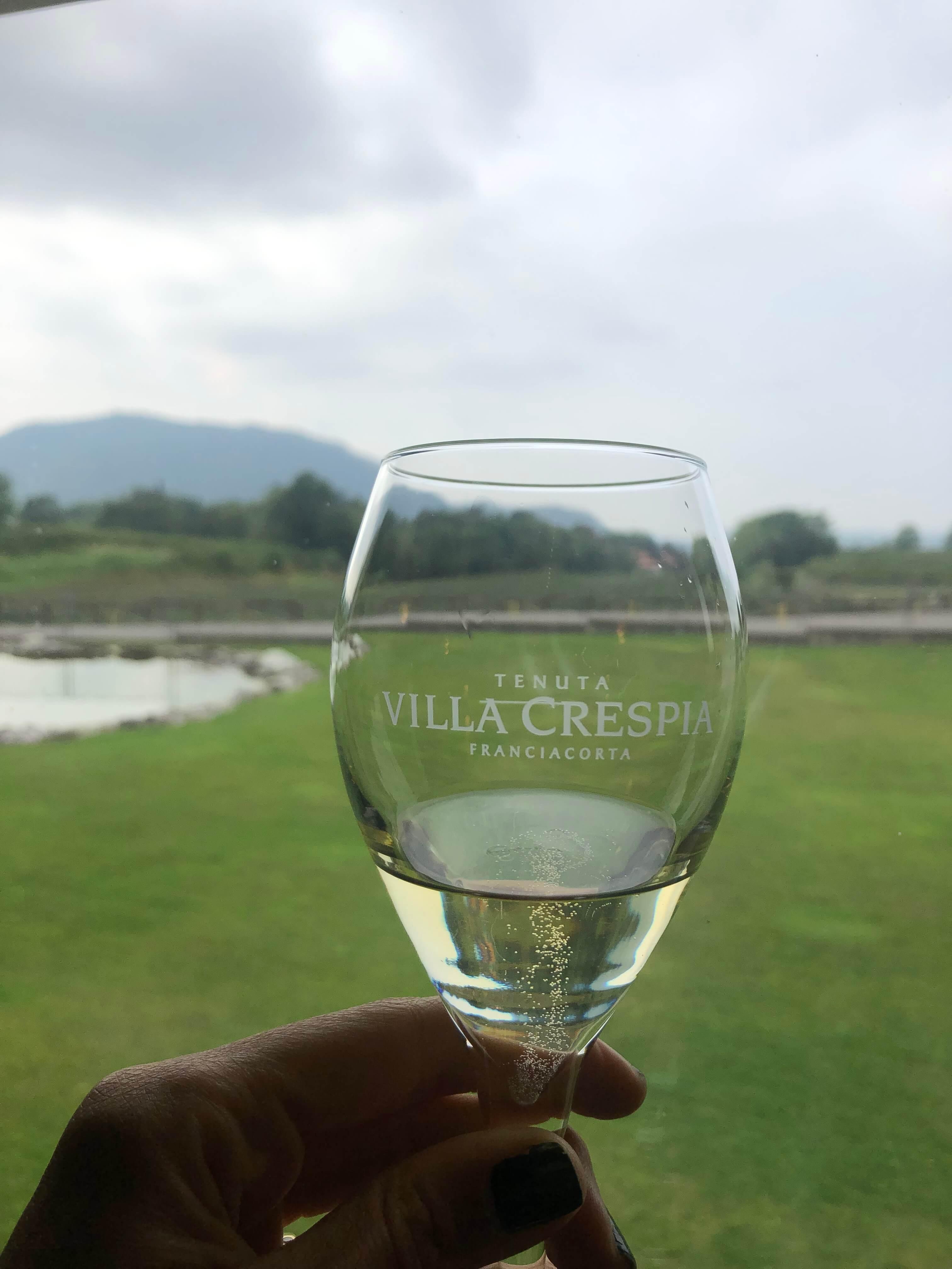 Franciacorta wine region villa crespia