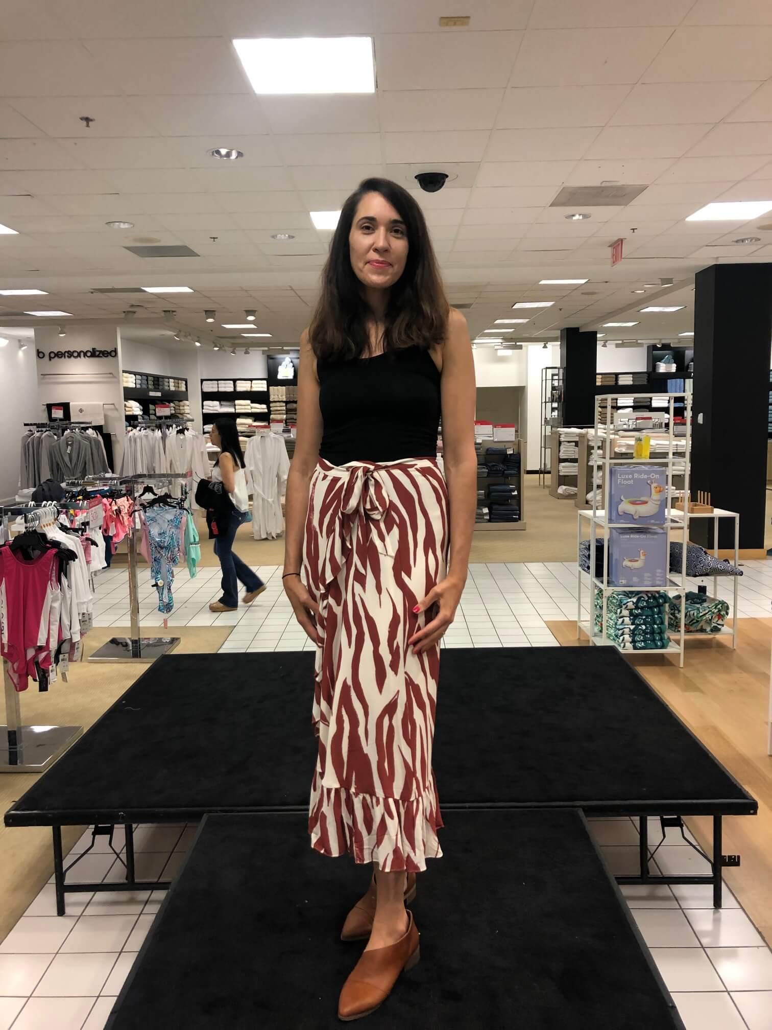 fashion show at Bloomingdales