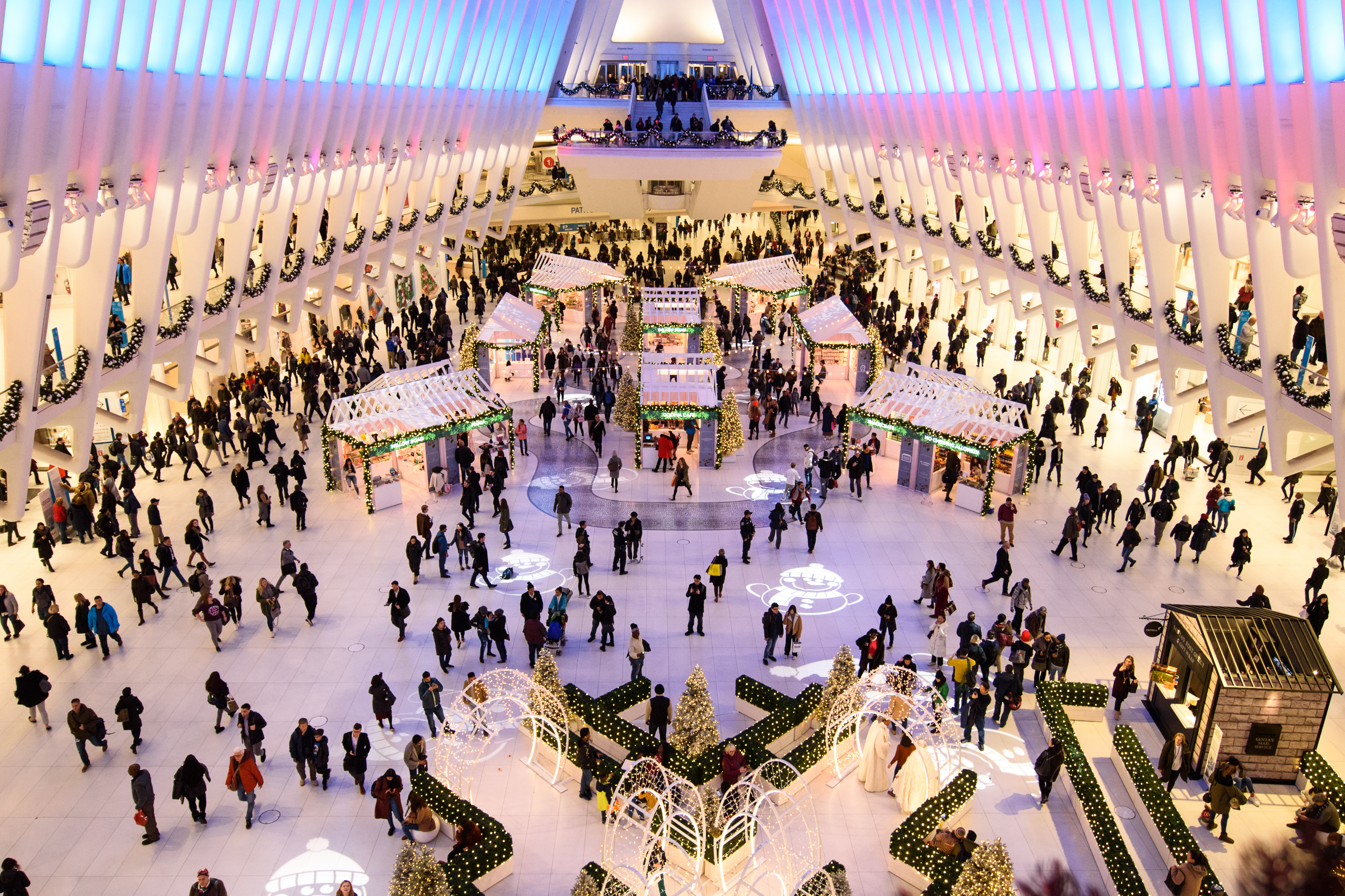 Market at Westfield holiday events in NYC
