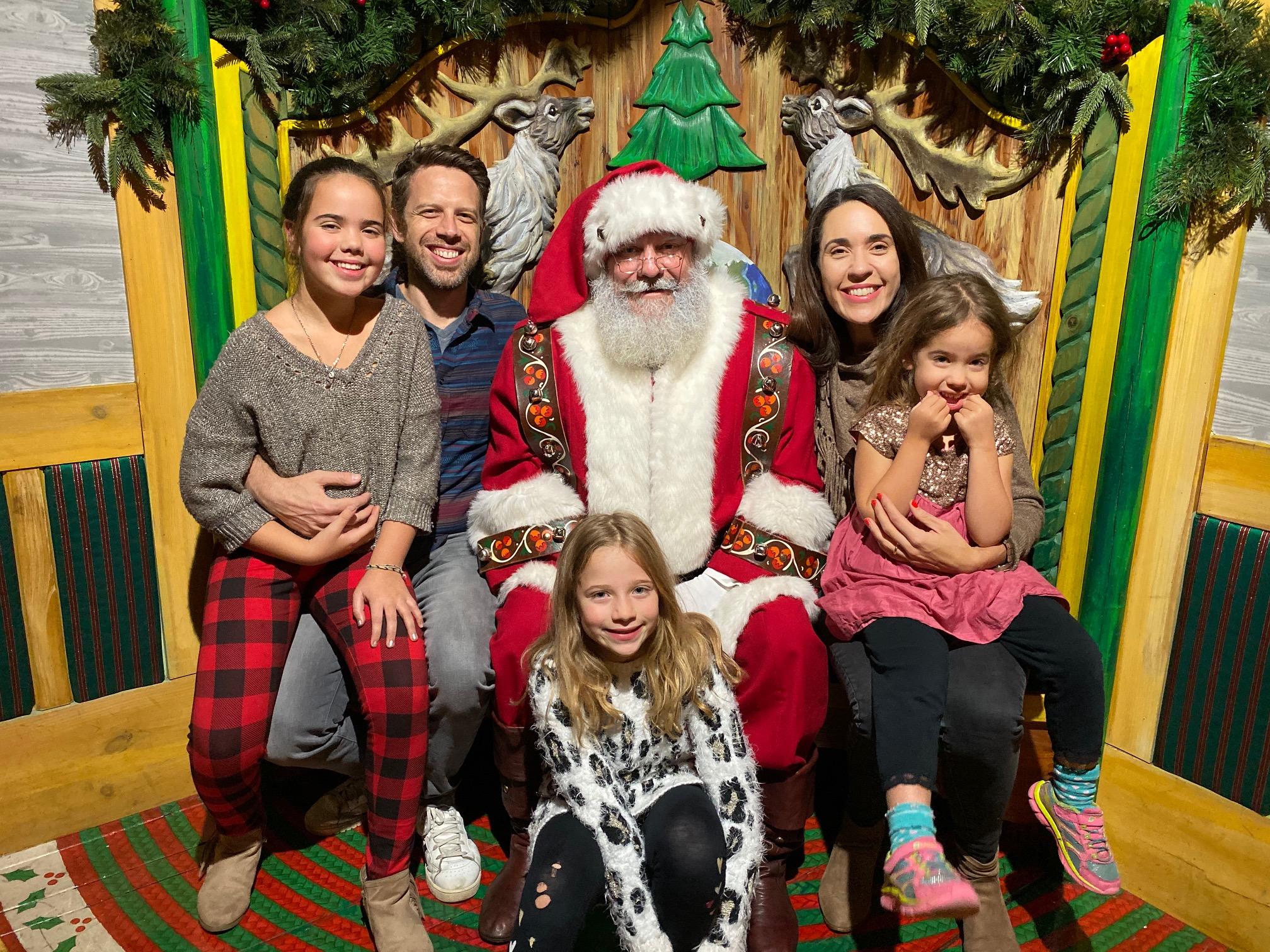 NYC Experiences over the holidays Macy's Santaland