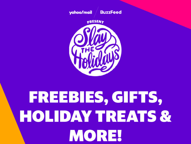 Slay the Holidays pop-up presented by BuzzFeed and Yahoo Mail