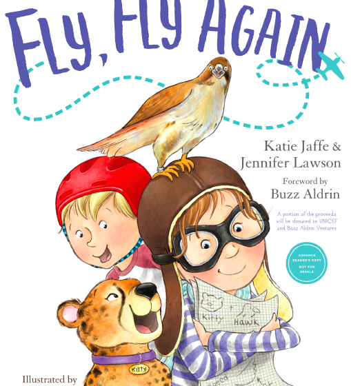 "New Book ""Fly, Fly, Again"" Encourages Kids to Follow Their Dreams+ Author Interview"
