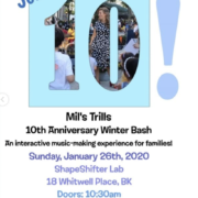 Mil's Trills 10th Anniversary Winter Bash
