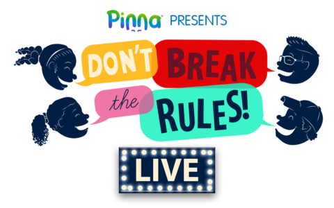 See the Live Podcast for Kids: Don't Break the Rules