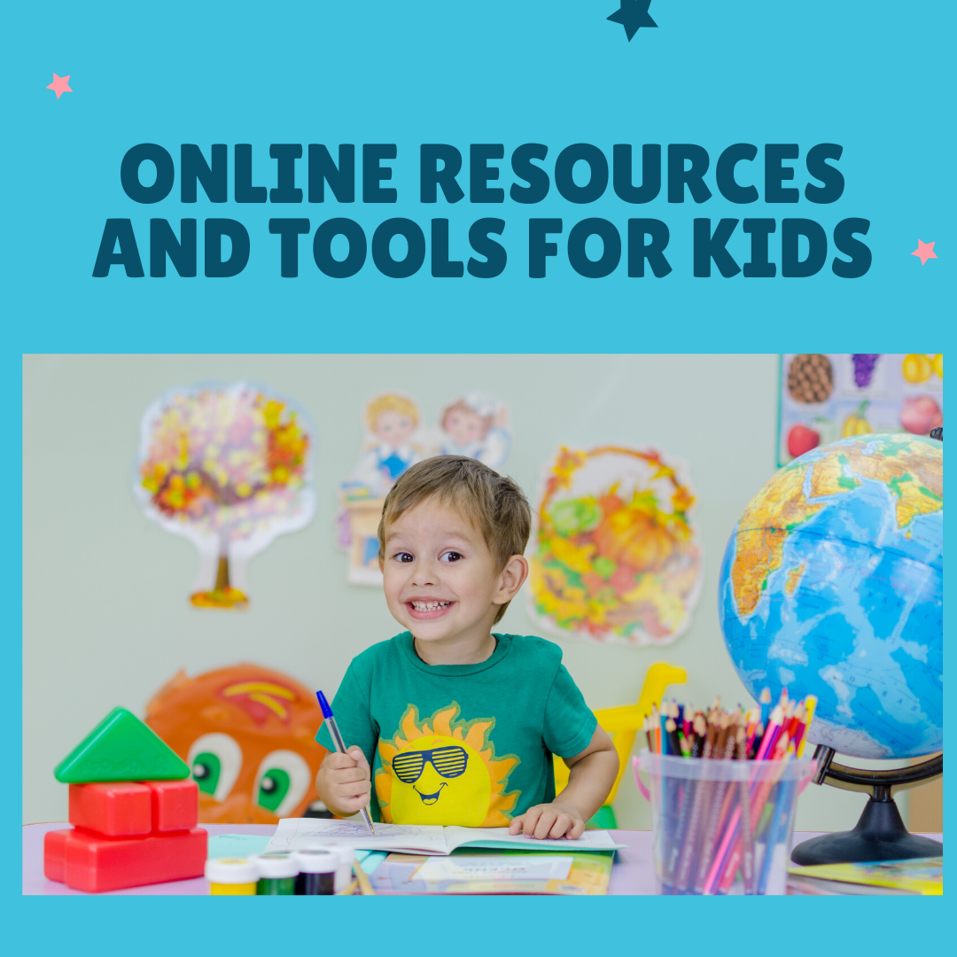 20 Fantastic Online Resources and Tools for Kids When They are Stuck at Home