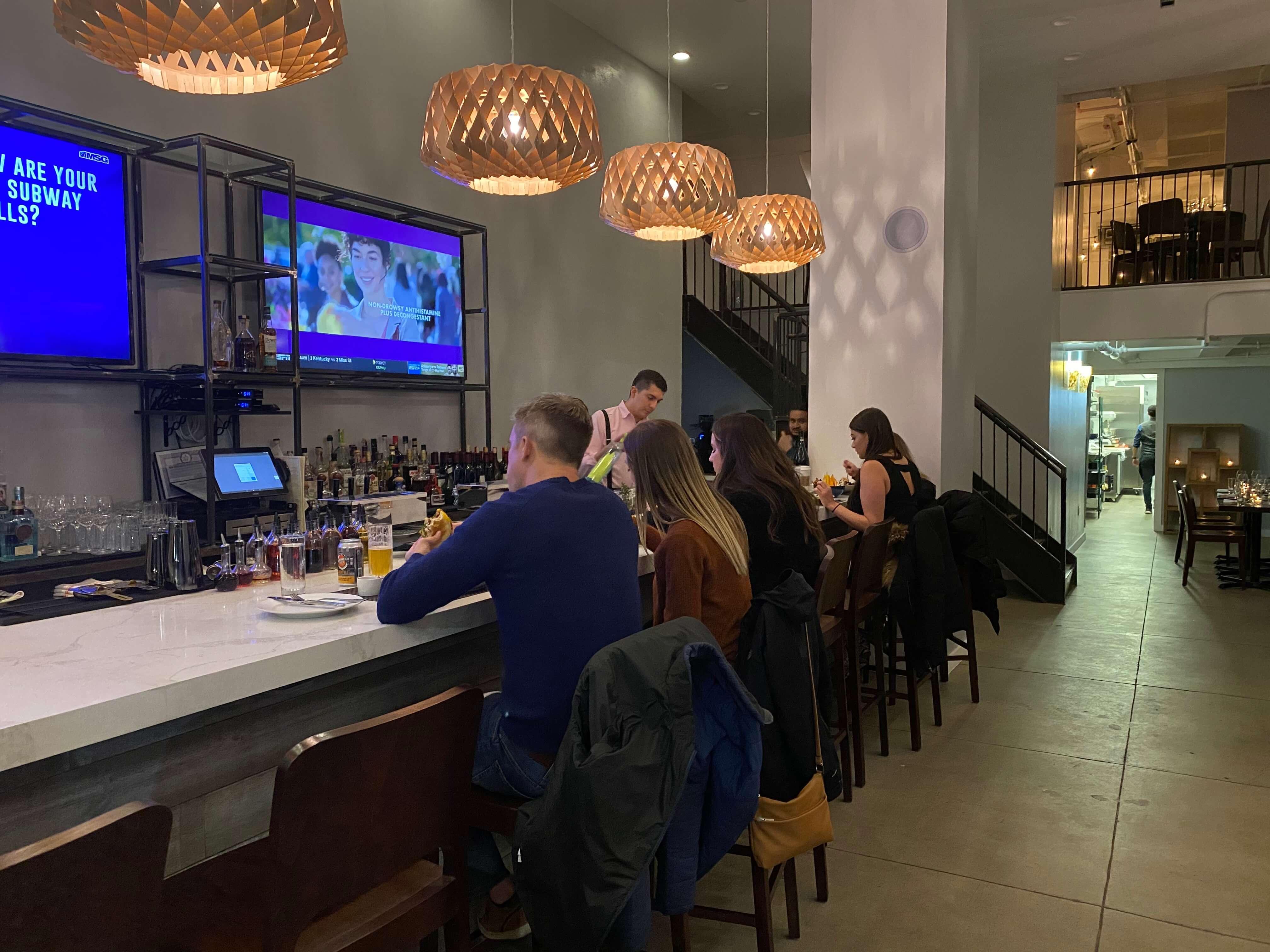 Bustling Bar at the Tillage
