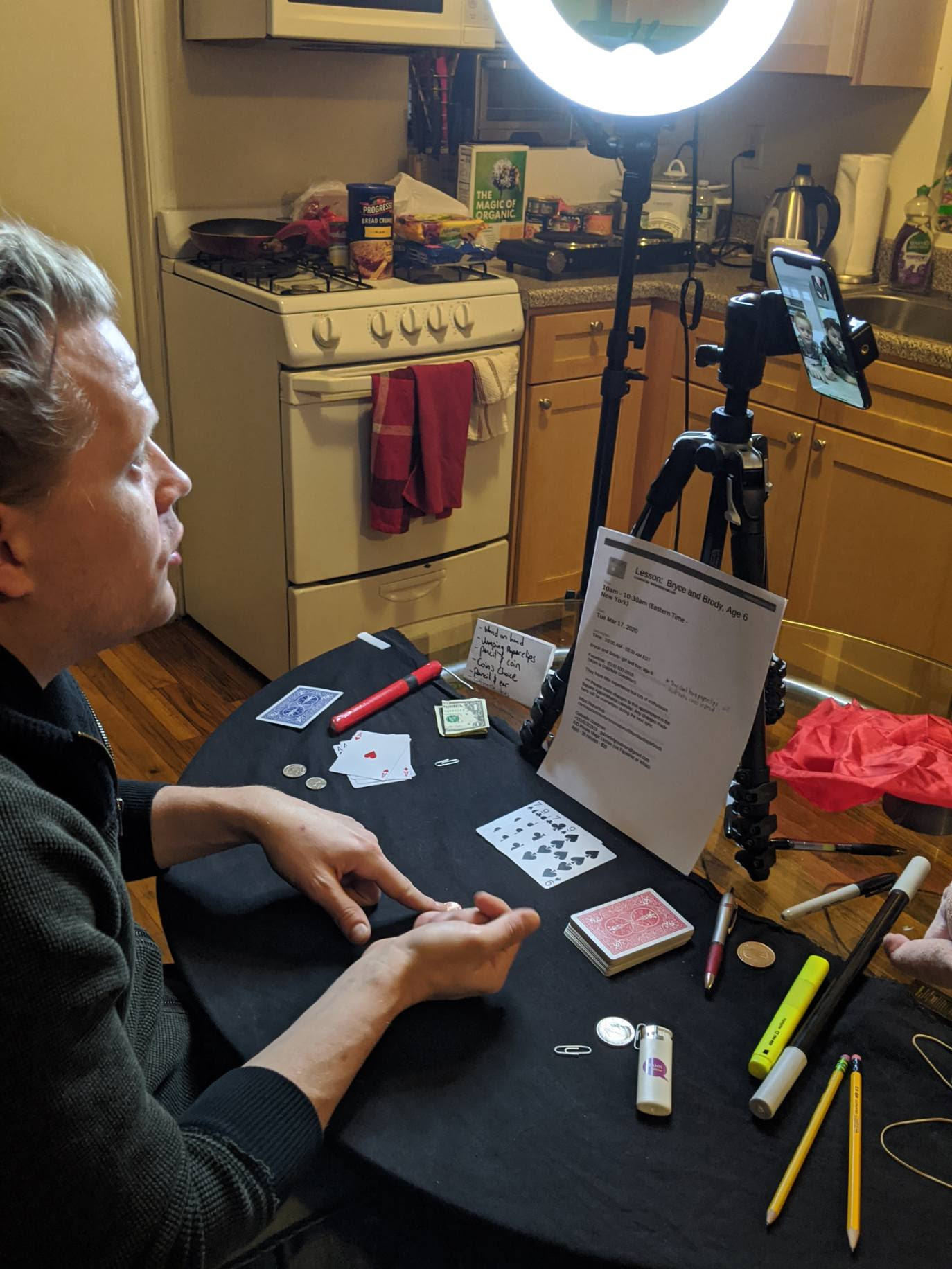 Take Virtual Magic Lessons with The Amazing Max