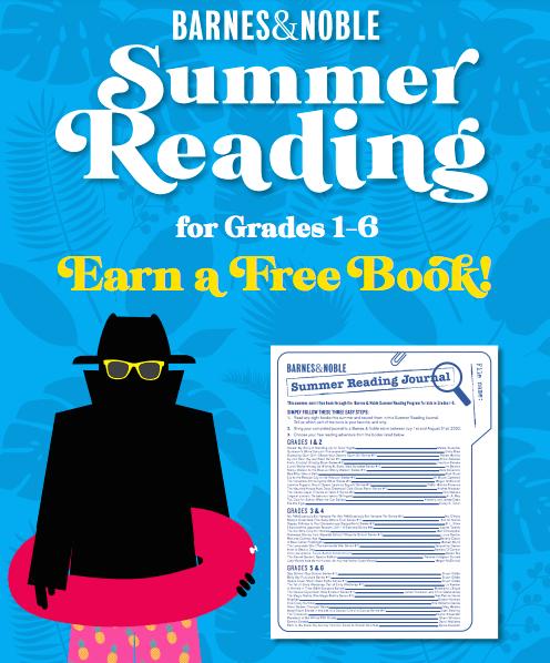 Enjoy Free Books from the Barnes & Noble Summer Reading Program ...